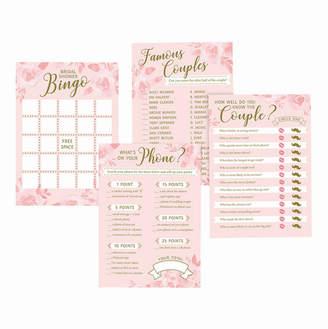 Lillian Rose Set of 4 Bridal Shower Games
