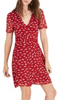 Madewell Women's Floral Faux Wrap Dress