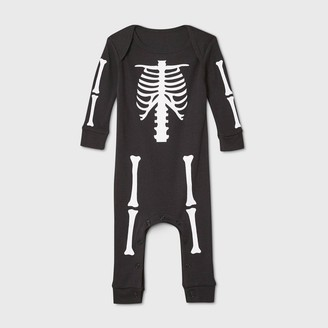 Nobrand Baby Halloween Skeleton Matching Family Union Suit -