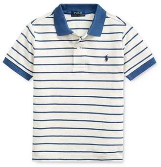 Ralph Lauren Boys' Striped Polo Shirt - Little Kid