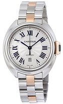 Cartier Women's W2CL0004 Cle De Midsize Analog Display Swiss Automatic Two Tone Watch