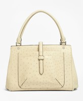 Brooks Brothers Ostrich Tote