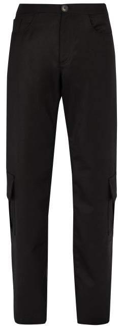 Wales Bonner Cargo Wool Trousers - Mens - Black