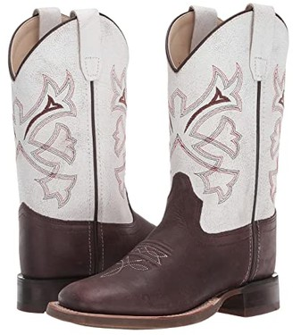 Old West Kids Boots Matthew (Toddler/Little Kid) (Distressed) Boy's Shoes