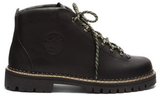 Diemme Tirol Leather Hiking Boots - Black