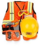Melissa & Doug Toddler 'Construction Worker' Personalized Costume Set