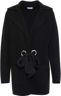 Claudie Pierlot Eyelet-embellished Knitted Cardigan
