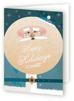 Minted Jewish Santa Self-Launch Holiday Cards