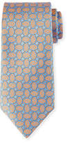 Charvet Ovals Micro Basketweave Tie