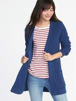 Old Navy Open-Front Shaker-Stitch Cardi for Women