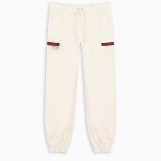 Gucci White track pants
