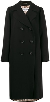 Dolce & Gabbana Pre Owned 1990s Loose-Fit Double-Breasted Coat