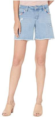 Jag Jeans Whipstitch Carter Shorts (Island Blue) Women's Shorts
