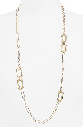 BP Long Linear Link Chain Necklace