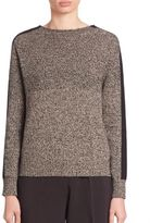 Piazza Sempione Mouline Wool & Cashmere Sweater