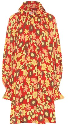 MM6 MAISON MARGIELA Floral-printed jersey dress