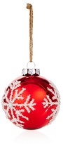 Bloomingdale's Snowflake Glass Ball Ornament - 100% Exclusive