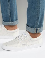 Djiins Djinns Nice Linen Trainers In White