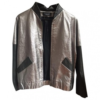 Margaux Lonnberg Silver Leather Leather jackets