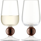 LSA International Oro White Wine Glass - Set of 2 - Copper