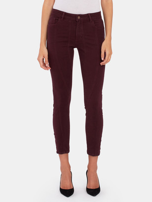 DL1961 Florence Mid Rise Ankle Skinny Jeans