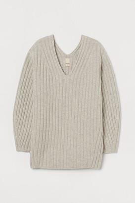 H&M Ribbed wool jumper