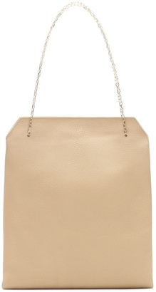 The Row Lunch Small leather shoulder bag