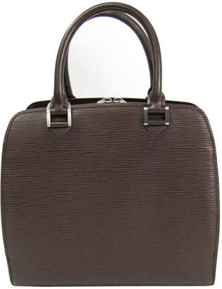 Louis Vuitton Mocha Epi Leather Pont Neuf PM Bag