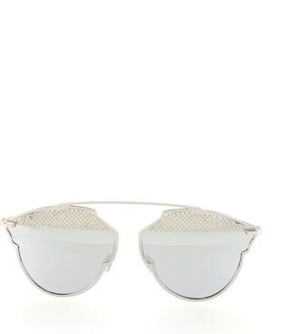 Christian Dior So Real S Aviator Sunglasses Studded Acetate and Metal