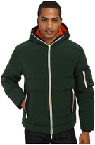 Rainforest Quilted Bomber w/ Hood