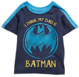 Nannette Boys 2-7 I Think My Dad is Batman Tee