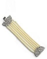 Ben-Amun Women's Ben X Imitation Pearl Bracelet