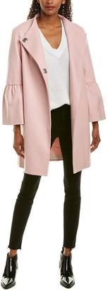 French Connection Platform Wool-Blend Coat