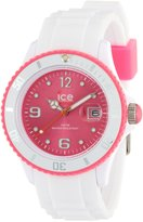 Ice Watch Ice-Watch Women's Ice-White SI.WP.U.S.11 White Silicone Quartz Watch with Dial