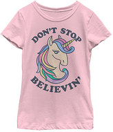 Fifth Sun Pink 'Don't Stop Believin'' Tee - Toddler & Girls