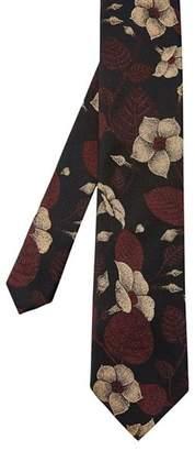 Ted Baker Fluro Floral Silk Skinny Tie