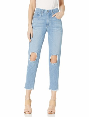 James Jeans Women's Donna High Rise Mom Jean in Topanga 29