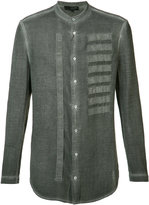 Tom Rebl embroidered shirt - men - Cotton - 48