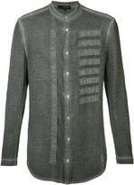Tom Rebl embroidered shirt - men - Cotton - 50