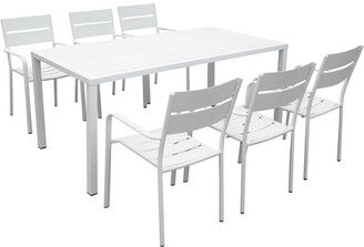 Pangea Miami 7Pc Dining Set