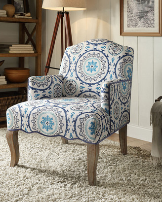 Linon Breanna Floral Arm Chair