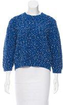 Thakoon Long Sleeve Textured Sweater