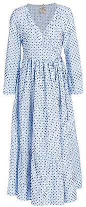 Baum und Pferdgarten Romance & Rituals Aymeline Cotton Wrap Dress