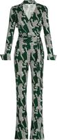 Diane von Furstenberg Printed jumpsuit