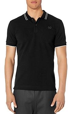 McQ Tipped Pique Slim Fit Polo Shirt