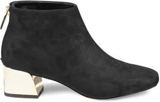 Karl Lagerfeld Paris Hayden Square Toe Booties