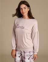 Marks and Spencer Long Sleeve Pyjama Top
