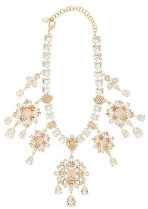 Dolce & Gabbana Crystal-drop Necklace - Gold