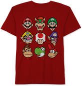 Nintendo Nintendo's Graphic-Print Cotton T-Shirt, Big Boys