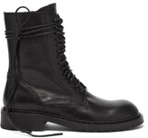 Thumbnail for your product : Ann Demeulemeester Danny Lace-up Leather Boots - Black